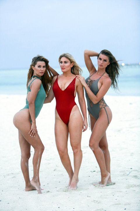 Victoria Bonya, Hofit Golan and Josephine Forsberg
