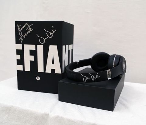 'The Defiant Ones' Beats Headphones Autographed by Dr. Dre and Jimmy Iovine