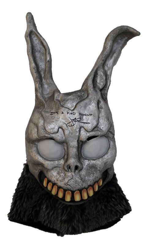 'Donnie Darko' Bunny Mask Autographed by Jake Gyllenhaal