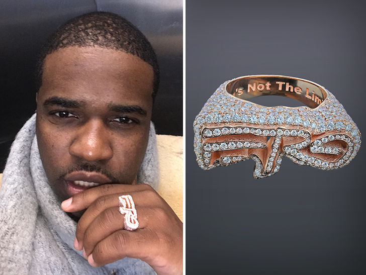 aap ferg drops 20k on diamond encrusted ferg logo ring