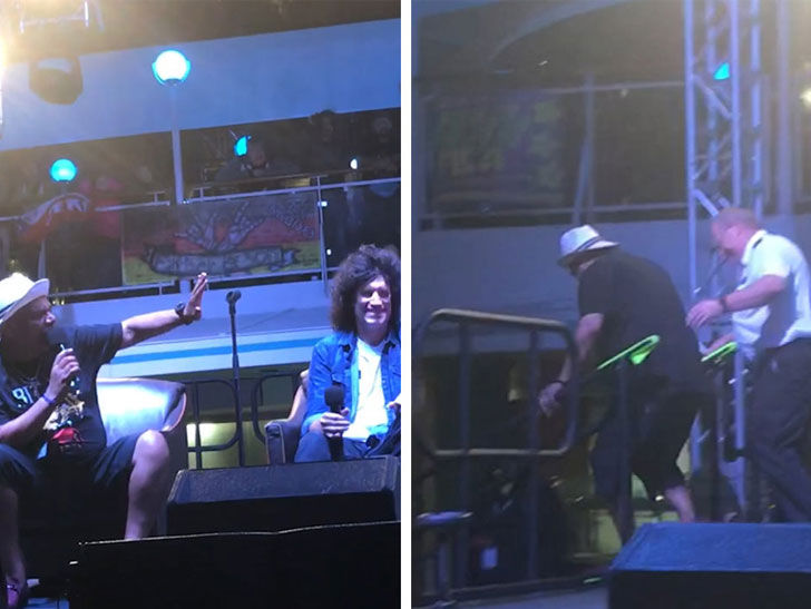 George Lopez got kicked off stage during a KISS Q&A because he was being too obnoxious.