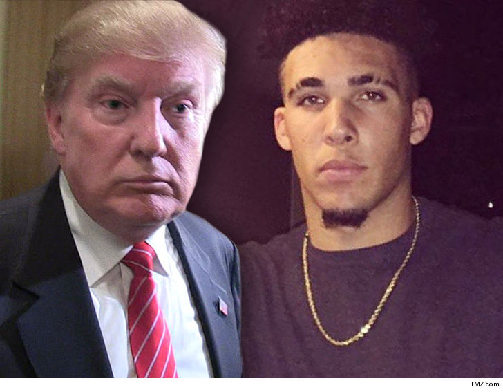Trump Asks Chinese President to Help Resolve LiAngelo Ball's Shoplifting Thing