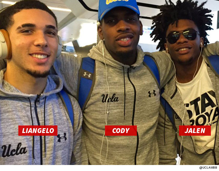 Image result for LIANGELO & UCLA TEAM MATES VIDEO FROM SHANGHAI AIRPORT... Minutes Before U.S. Flight