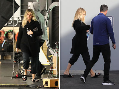 Khloe Kardashian's Baby Bump Magically Reappears