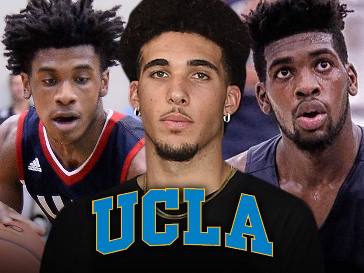 LiAngelo Ball, UCLA Teammates Touch Down In U.S.