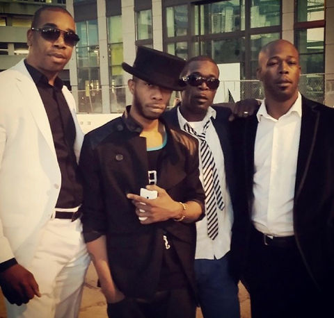 the Soul for Real brothers shared a photo last summer on social media looking dapper.