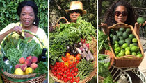 Oprah's Harvest Day ... See Her Growing Passion!