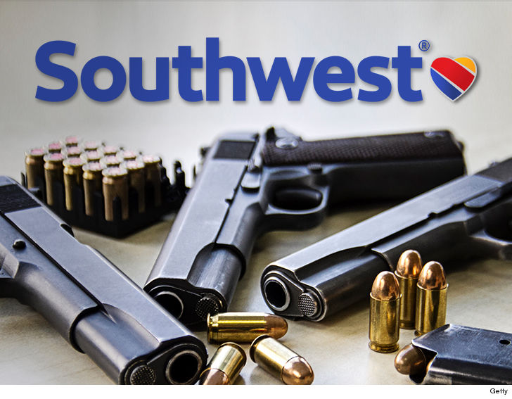 Southwest Pilot Arrested for Bringing Gun to the Airport