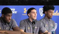 LiAngelo Ball & UCLA Teammates Confess to Stealing, Thank President Trump