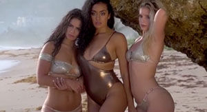 Sports Illustrated's Sexy Collaboration With The Brooklynettes & The Pics Are Too Hot To Handle