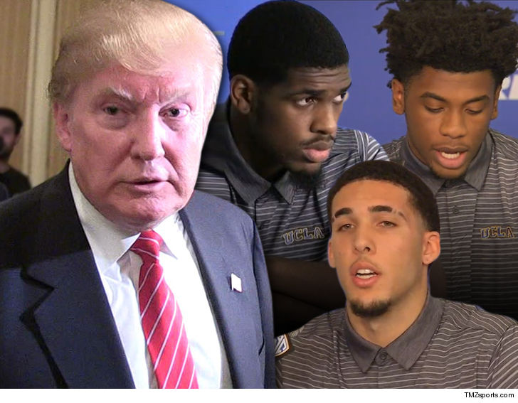 Trump asked Chinese president to release United States  basketball players
