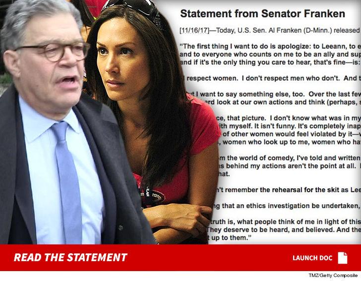 Al Franken Sexual Harassment
