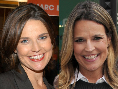 Savannah Guthrie -- Good Genes or Good Docs?
