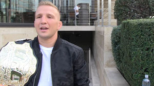 UFC'S T.J. DILLASHAW MAN UP & FIGHT ME, MIGHTY MOUSE... Don't Be Scared, Homie!