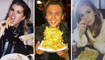 Celebs Eating French Fries ... Happy Fryday!