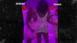 Serena Williams Wedding Video, Venus Shakes to 'Back That Ass Up'