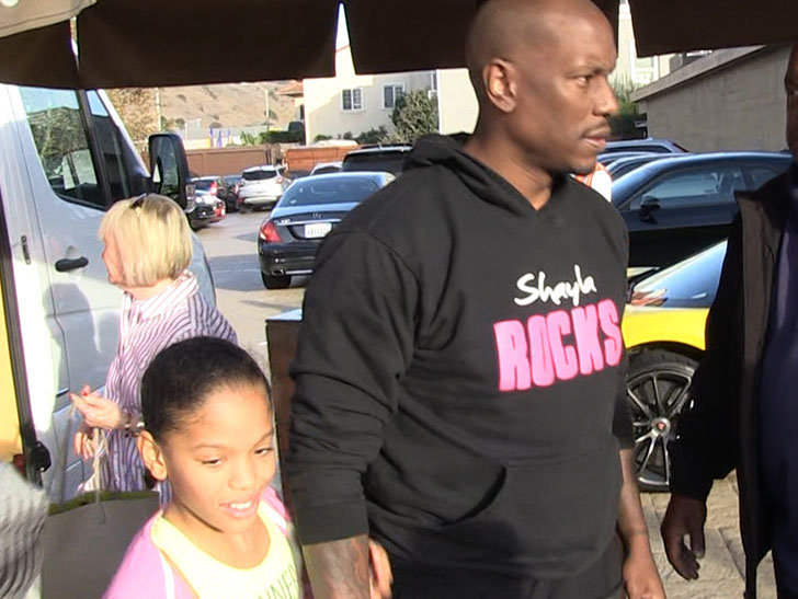 Tyrese Gibson Not Optimistic On Way into Court