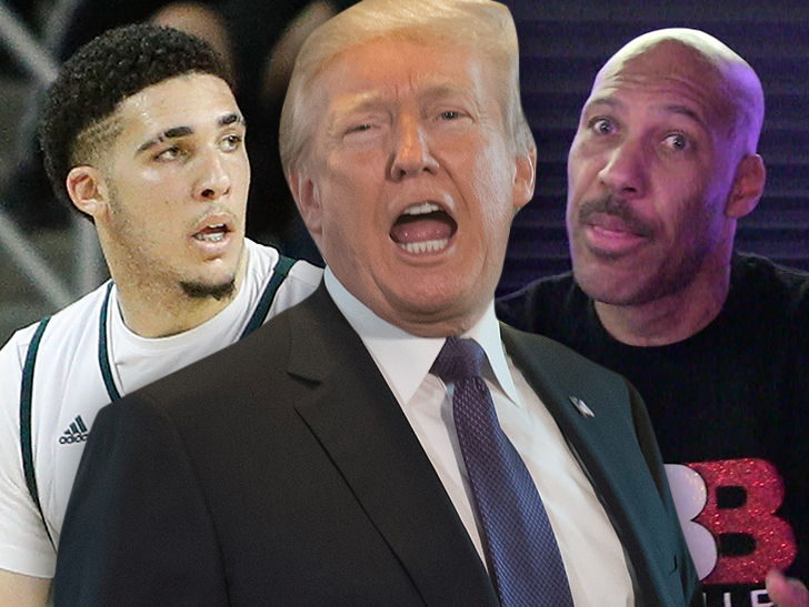 Donald Trump Blasts LaVar Ball: I Should Have Left LiAngelo in Jail!