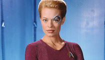 Seven of Nine on 'Star Trek: Voyager' 'Memba Her?!
