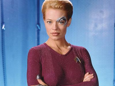 Seven of Nine on 'Star Trek: Voyager' 'Memba Her?!