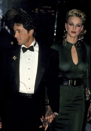 Sylvester Stallone and Brigitte Nielsen Together