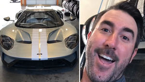 Justin Verlander Shows Off Super Rare $450K Ford GT