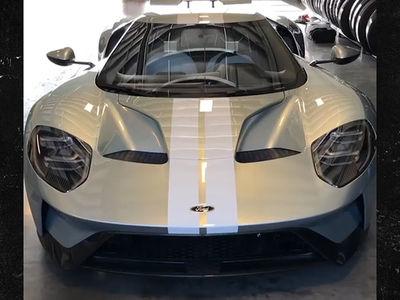 Justin Verlander Shows Off Super Rare $450k Ford GT