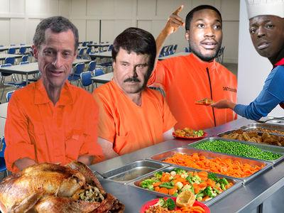 Celeb Convicts Meek Mill, El Chapo, Bobby Shmurda Will Eat This for Thanksgiving