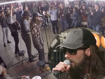 Maroon 5 Went Undercover as Subway Performers with Jimmy Fallon and Blew Everyone Away