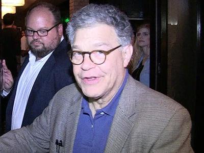 Senator Al Franken Tells His Victims He's Just a Big Hugger