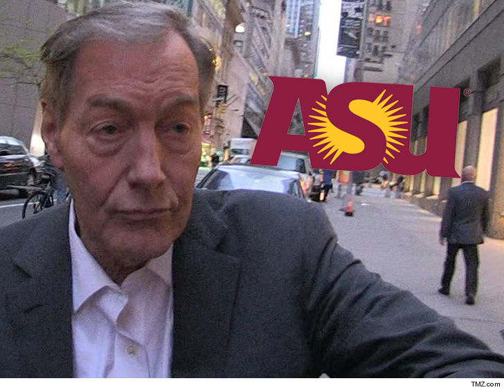 ASU's Cronkite School Rescinds Charlie Rose's 2015 Award for Excellence in Journalism