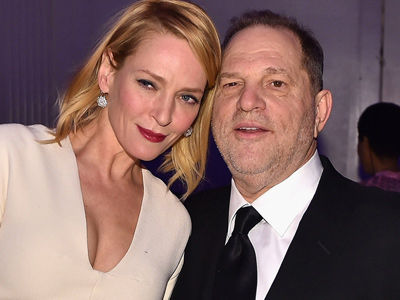 Thurman Takes Aim at Weinstein -- Gwyneth, McGowan & More Give Major Props!