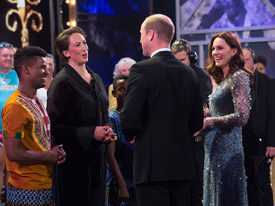 Prince William and Kate Attend The Royal Variety Performance 2017
