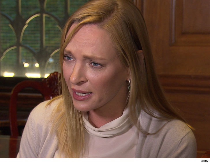 Uma Thurman lashes out at Harvey Weinstein