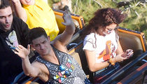 Sarah Hyland Texts On Disneyland's Big Thunder Mountain Roller Coaster