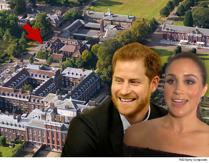 Meghan Markle And Prince Harry To Live In Apartment In
