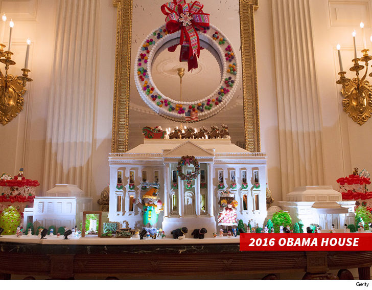 the life of white house gingerbread house its yuuuuge
