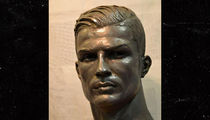 Cristiano Ronaldo Gets New Bust, Accurately Portrays Handsomeness