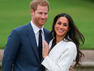 Meghan Markle and Prince Harry Make First Public Appearance Since Engagement
