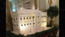 White House Gingerbread House Is Yuuuuge, 300 Pounds, Baby!