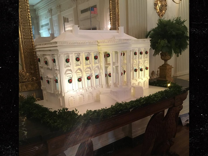 White House all set for Christmas celebrations