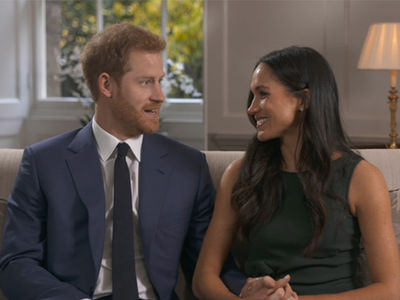 Meghan Markle and Prince Harry Dish Details on Engagement