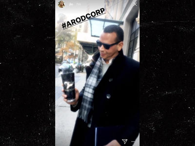 Alex Rodriguez Cup Checked By J Lo, I'm Blinged Out Too!