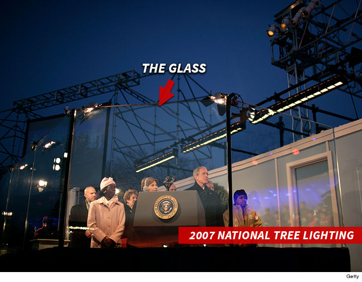 The Glass Will Probably Look Something Like This One From George W Bush S 2007 Lighting