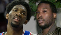 Joel Embiid Visits Meek Mill in Prison