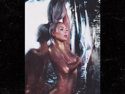 Kim Kardashian Promotes Face Makeup by Going Topless