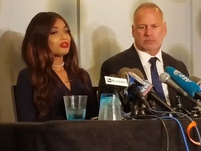 Harvey Weinstein Accuser Holds News Conference Describing Alleged Sexual Assault