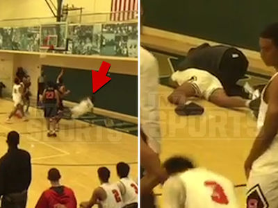 Shareef O'Neal Injured, Slams Head on Court During Brutal Fall