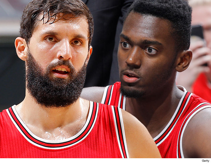 Nikola Mirotic will keep it professional with Portis but that's it