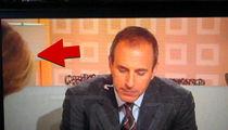 Matt Lauer Caught on Video Telling Meredith Vieira, 'Keep Bending Over, Nice View' (UPDATE)